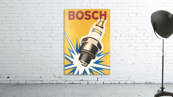 Vintage Bosch Spark Plug Automobile
