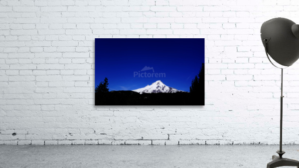 Mount Hood in the Waning Light of Day - Oregon Columbia River Gorge