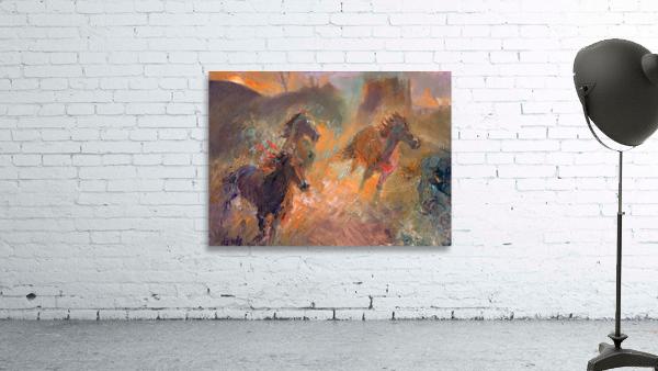 Wild Horses Sun Dust