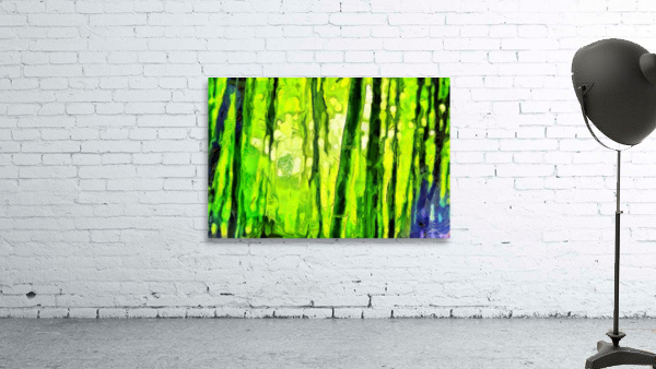 Bamboo forest oil painting inVincent Willem van Goghstyle. 3.
