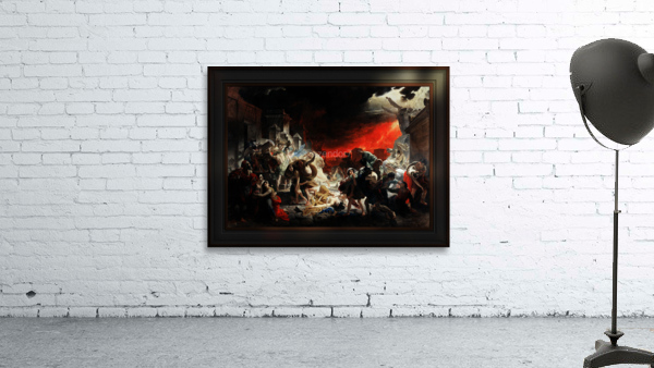 The Last Day of Pompeii by Karl Bryullov Classical Fine Art Xzendor7 Old Masters Reproductions