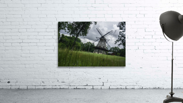 Windmill in a Storm