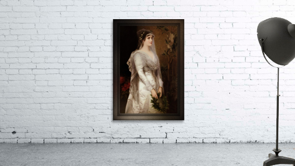 Laura by Conrad Kiesel Classical Art Xzendor7 Old Masters Reproduction