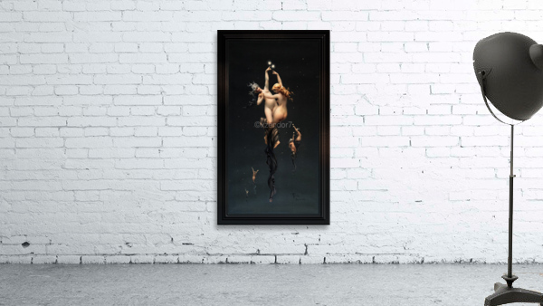 Twin Stars by Luis Ricardo Falero Classical Fine Art Xzendor7 Old Masters Reproductions