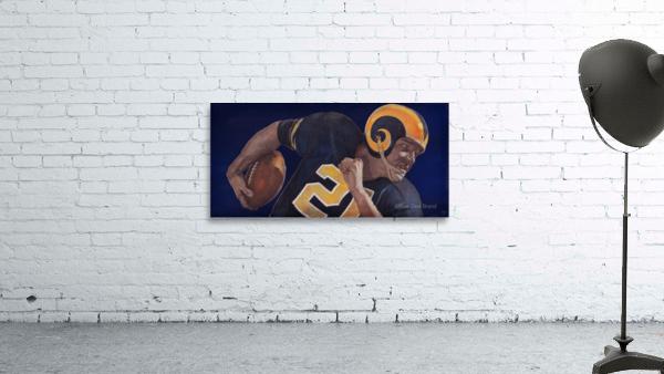 1959 LA Rams Vintage Football Art