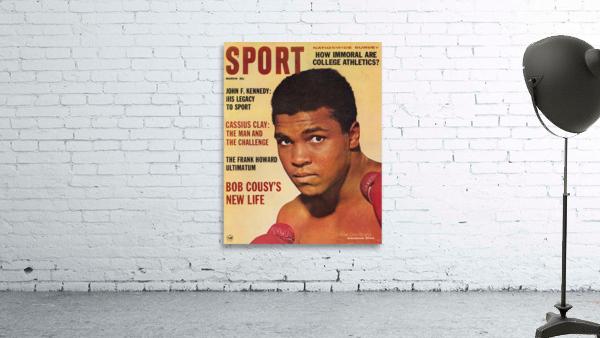 1964 Sport Magazine Muhammad Ali Cover