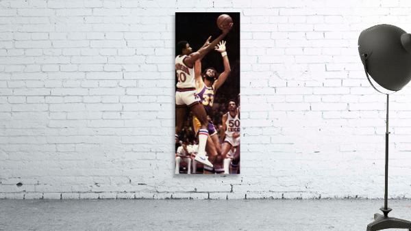 1981 Knicks vs. Lakers Art