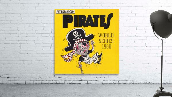 1960 Pittsburgh Pirates World Series Art