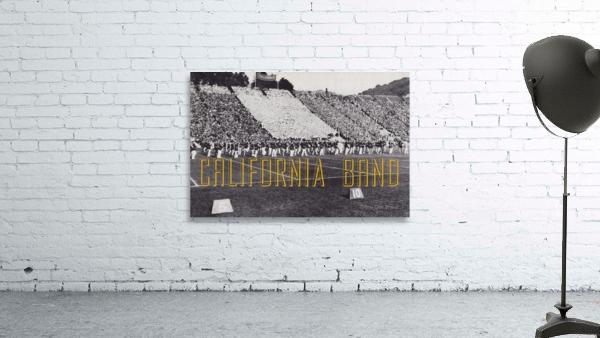 1937 California Marching Band Art