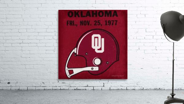 1977 Oklahoma Football Ticket Remix Row 1