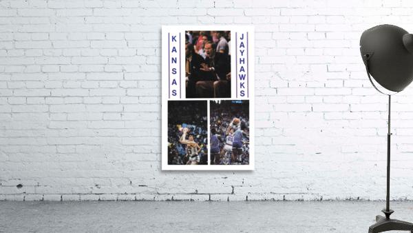 1982 Kansas Jayhawks Basketball Art