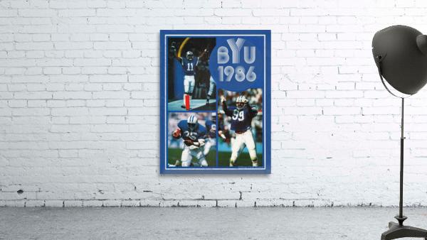 1986 BYU Cougars Football Art
