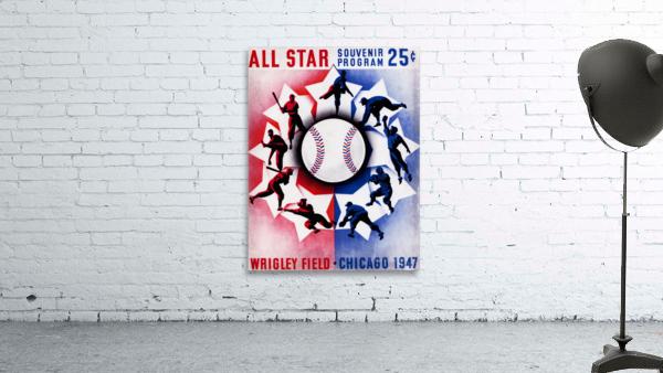 1947 Chicago All-Star Game Program Art