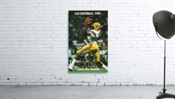 1984 LSU Tigers Football Catch The Action