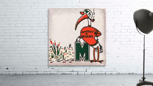 Vintage Fifties Miami Hurricane Art