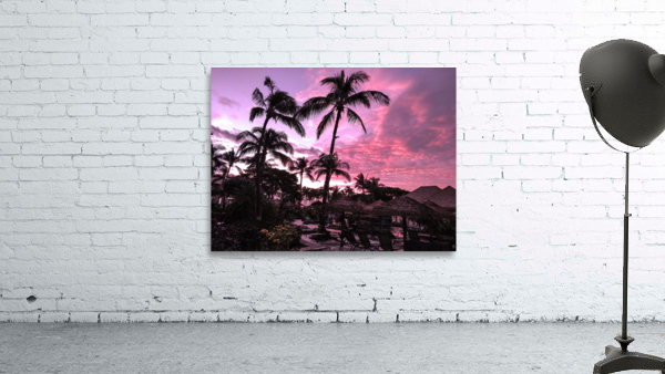 After the Beach Party - Tropical Sunset Hawaii