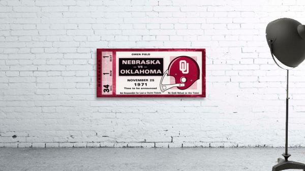1971 Oklahoma Sooners vs. Nebraska Cornhuskers Remix