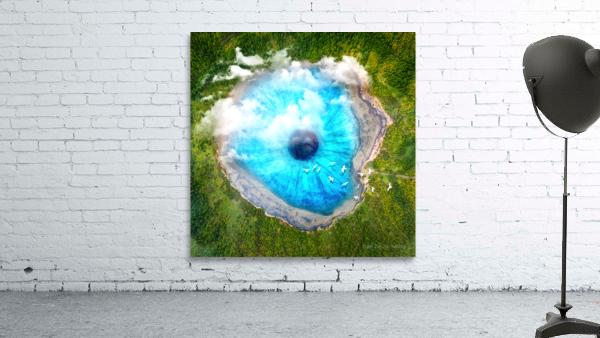 Dream Art XX Surreal Eye Lake