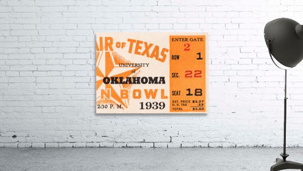1939 Texas Longhorns vs. Oklahoma Sooners