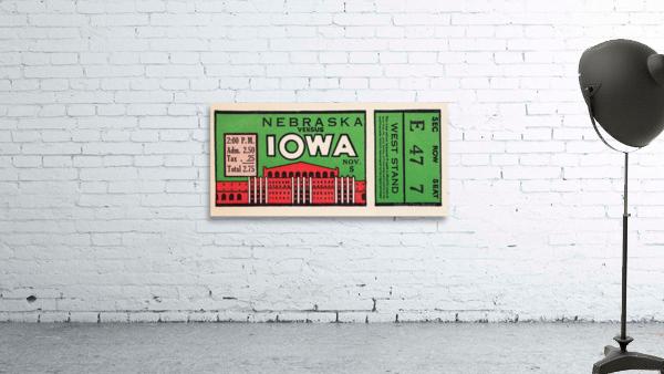 1932 Iowa Hawkeyes vs. Nebraska Cornhuskers