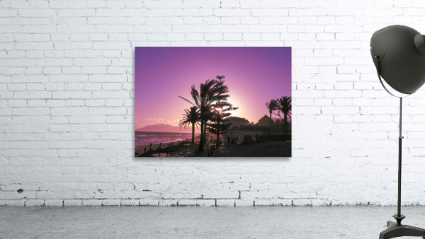 Sunset Costa Del Sol Spain