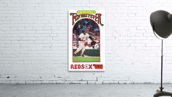1985 Boston Red Sox Retro Poster