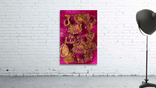 JARS - Original Abstract Acrylic Paint Printed on Canvas by: Rebecca Mangalindan