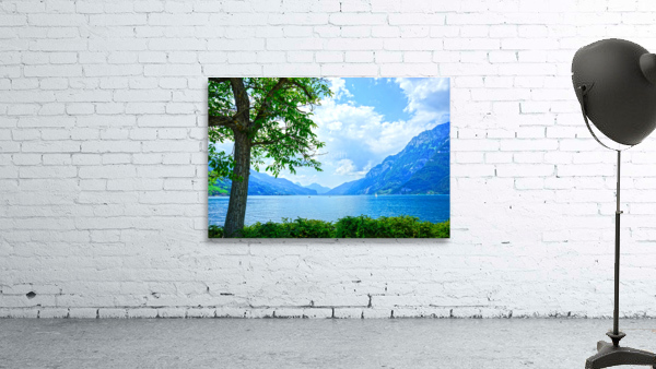 Snapshot in Time Walensee - Lake Walen Switzerland 3 of 3
