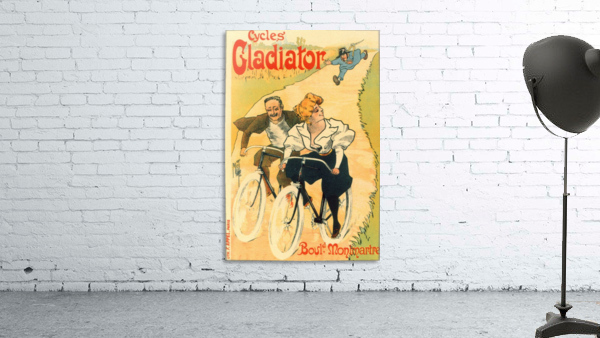 Cycles Gladiator poster in 1897