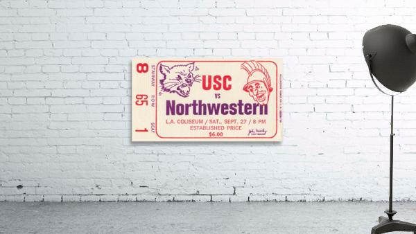 1969 USC Trojans vs. Northwestern Wildcats
