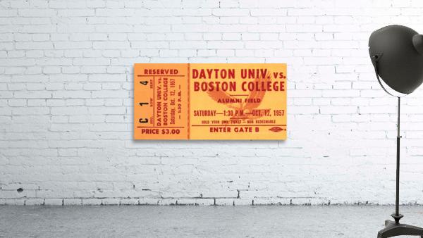 1957 Dayton Flyers vs. Boston College Eagles