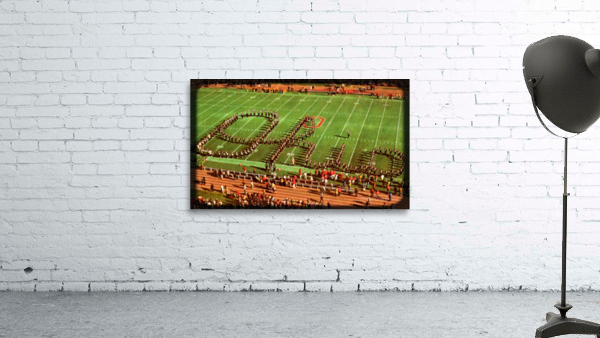 1978 Ohio State Marching Band Art