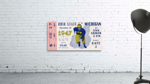 1947 Michigan Wolverines vs. Ohio State Buckeyes