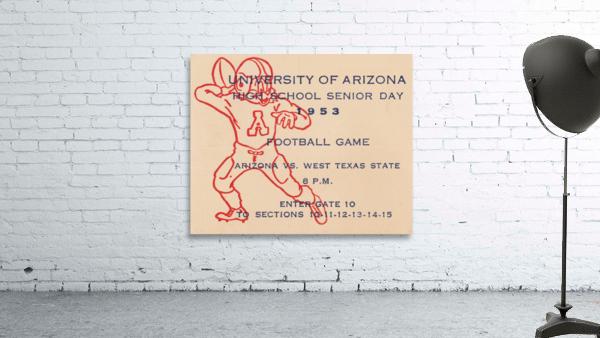 1953 Arizona Wildcats vs. West Texas State