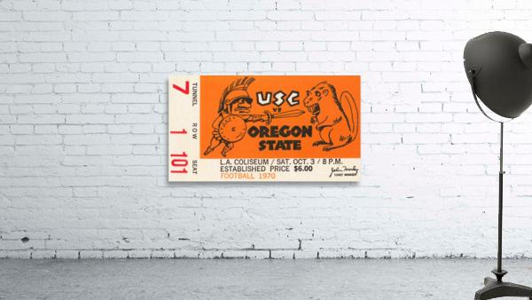 1970 USC Trojans vs. Oregon State Beavers