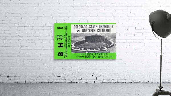 1977 Colorado State Rams vs. Northern Colorado