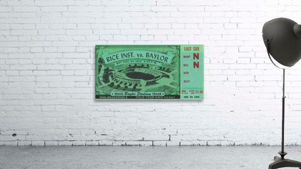 1952 Rice Owls vs. Baylor Bears