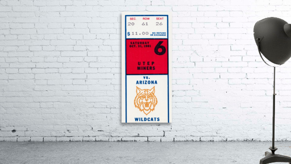 1981 Arizona Wildcats vs. UTEP Miners