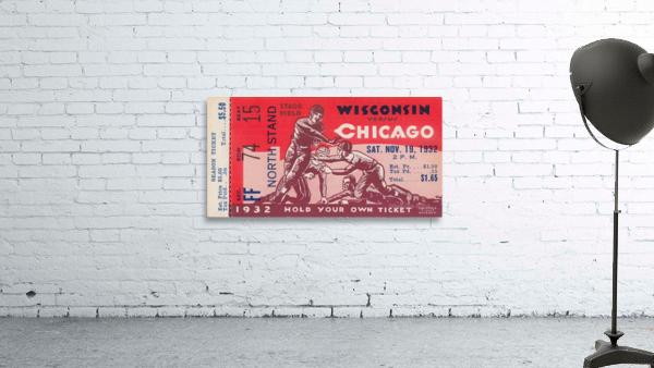 1932 Wisconsin Badgers vs. Chicago Maroons