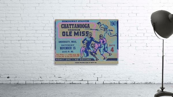 1947 Ole Miss Rebels vs. Chattanooga