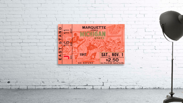 1947 Michigan State Spartans vs. Marquette Hilltoppers
