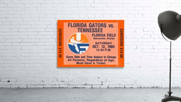 1985 Florida Gators vs. Tennessee Vols