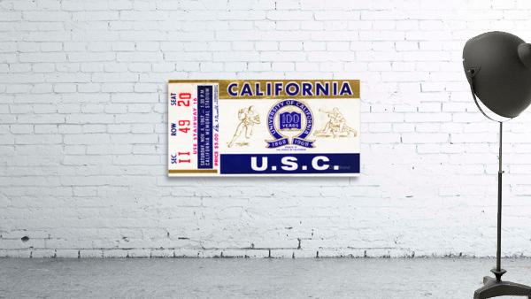 1967 California Bears vs. USC Trojans