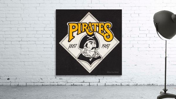 1988 Pittsburgh Pirates Retro Art
