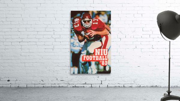 1983 Northern Illinois Huskies Football Poster