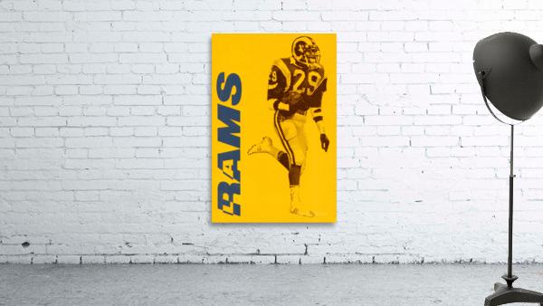 1986 LA Rams Football Art