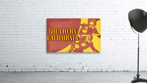 1936 Southern California Football Ticket Remix