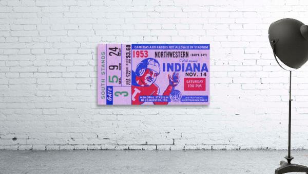 1953 Indiana Hoosiers vs. Northwestern Wildcats