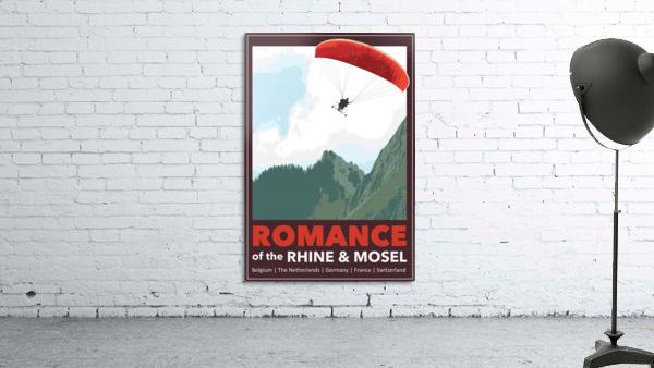 Lydon, Romance of the Rhine and Mosel poster