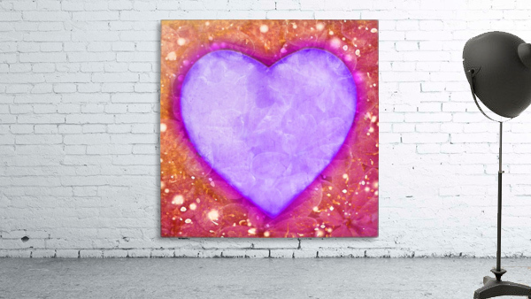 Vibrant Love Digital Art Collage